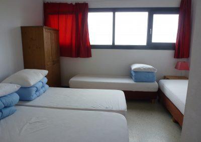 Slaapkamer west-midden